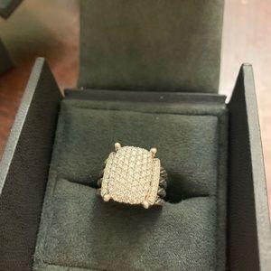 David Yurman Wheaton® Ring with Diamonds